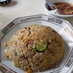 12407759 - 炒飯700円也。飯はあくまでもパラパラ、味濃いめで旨し。