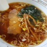 12407761 - 柳麺と書いてラーメンと呼ぶ(500円也)。メニューの漢字表記も凝ってはる、この店