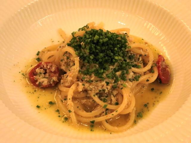アロマフレスカ - ワタリ蟹のスパゲッティ