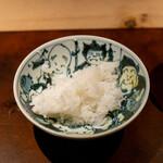 座屋 - 白米(四万十黒潮町の天日干しの塩で)