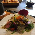 ステーキハウス神楽 - サラダ