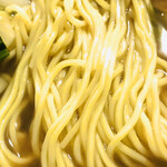 白龍 - 五目そば 麺