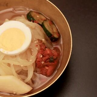 【〆の冷麺】は感動する美味しさ♪