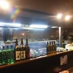 ホルモン焼き らーめん いなまる - 日本酒の充実度はまぁまぁ(ワタシ日本酒はたまにしか飲みません)、ラーメン屋としては・・・こんなに要るの?