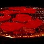 安楽亭 - 七輪で焼くのよ。