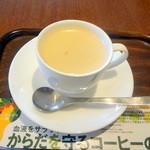 上島珈琲店  - 和三蜜ミルク紅茶S350円