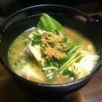 酒美飯囲ひろし - モツ煮 680円