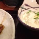 Kamiyaryuuhakatadoujou - 冷奴はけっこう美味しかった