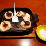 みなと寿司 - ふぐの焼き白子