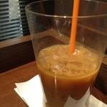 サンマルクカフェ  - カフェラテのみかけー