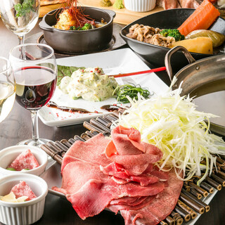 【牛タン料理】存分に味わうコース多数