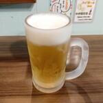 浜焼きゆうちゃん - 生ビール