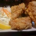 やきとり たかた - 鶏の唐揚げ