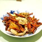 新世界菜館 - 鶏の唐辛子