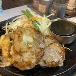 肉のはせ川 - はせ川ハンバーグ&和風おろし(170g)830円