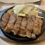 肉のはせ川 - ワンポンドステーキ(450g)2,180円