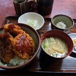 一二三食堂 - ソースヒレカツ丼