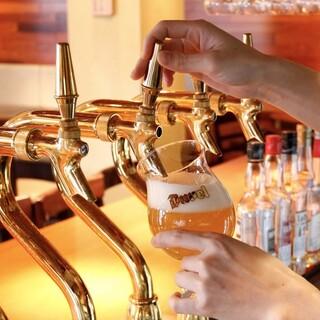 他店には置いていない、世界各国の珍しいビールに出会えます
