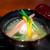 京 上賀茂 御料理秋山 - 蟹とじゃがいもの真薯、 菊芋