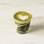 FRANZE & EVANS LONDON - 抹茶の風味豊かな抹茶ラテ
