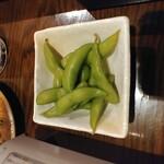 たなか屋 - 茶豆の出汁浸し