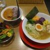 農村かふぇ ハレルヤ - 料理写真:魚介煮干しらーめん+セット