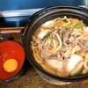 手打ちうどん王将 - 料理写真:肉すき鍋