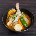 奥芝商店 - 料理写真:チキンと北海道野菜カリー(1,280円)