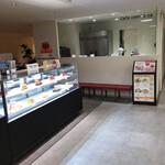 カフェ コムサ - 入り口