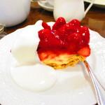 124115601 - 【2020年1月24日】『苺のパイ』。