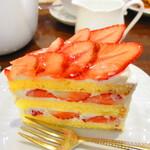 124115621 - 【2020年1月24日】『苺のショートケーキ』。