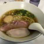 麺や福はら - 厳選素材の中華そば950円&味玉トッピング120円