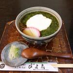 藤沢 ひよ志 - 料理写真:めかぶとろろ蕎麦