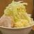 ジャンクガレッジ - 料理写真:ラーメン(大盛)+ヤサイダブルニンニクダブル