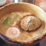 12413551 - 魚粉たっぷり濃厚スープ