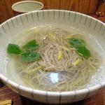 土日庵 - ゆずの香釜揚げ蕎麦