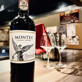 ボトルワイン、焼酎、日本酒も豊富なラインナップでご提供!