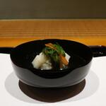 124138619 - 松葉ガニの真薯椀