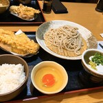 長栄寺ゆたか - 料理写真:レディースセット蕎麦