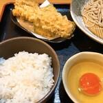 長栄寺ゆたか - 天ぷら美味しい!卵も美味しい!