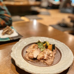 Hamachou - 焼若鶏クルミソース