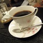 珈琲家あさぬま - ブレンドコーヒー(¥500)