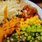 もうやんカレー - 野菜料理がよいです。