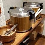 もうやんカレー - 古代米+キヌア、黒米