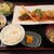 和洋亭 なか村 - 料理写真:黒メバル・海老チリ・貝柱のセット1800円