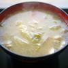 タケヤ味噌会館 - 料理写真:具だくさんとん汁~☆