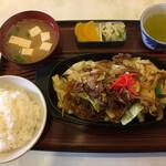 水舟 - 料理写真:肉炒め定食