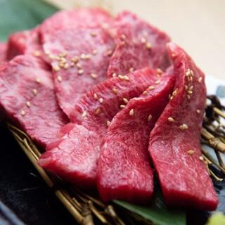 厳選した極上のお肉!