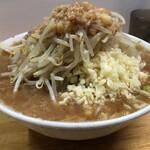 夢を語れ - 料理写真:【再訪】ラーメン(野菜,ニンニク,アブラ)