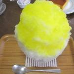 埜庵 - レモン(市販シロップ)¥500@'12.3.下旬